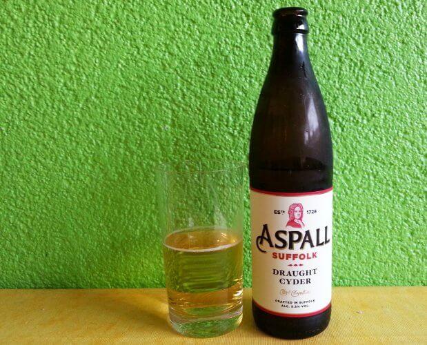 Aspall Draught im Glas