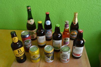 Cider-Sorten im Test