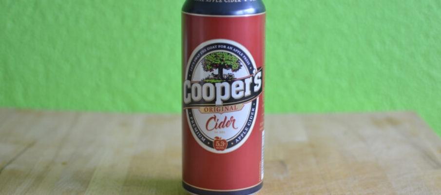 Cooper's Cider in der Dose