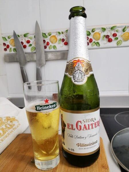 La Gaitera Sidra bzw. Cider
