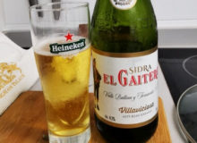 El Gaitero Sidra bzw. Cider