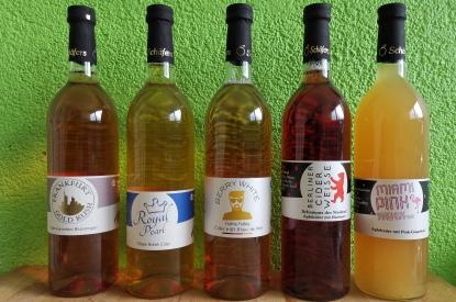Cider-Flaschen