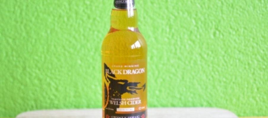 Gwynt y Ddraig Black Dragon Flasche