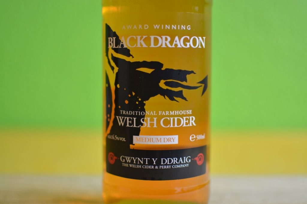 Black Dragon Cider Label