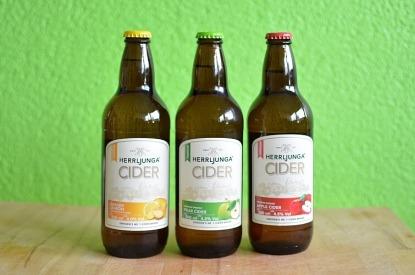3 Flaschen Herrljunga-Cider