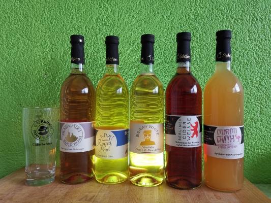 Cider von Kelterei Schäfer