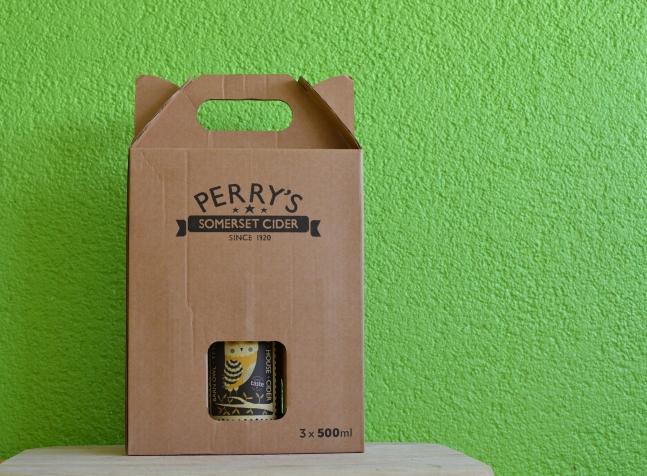 3 Flaschen Perry's Cider